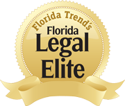 A prestigious roster of Florida attorneys chosen for recognition by their peers who hold them in the highest regard